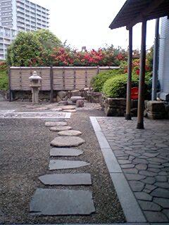 屋上庭園?