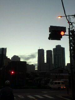 新宿の夜明けじゃ